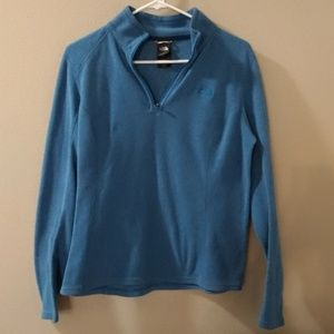 Women's Teal color The Northface pullover